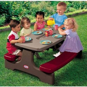 Buy A Little Tikes EasyStore Kids Picnic Table