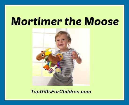 Lamaze Mortimer the Moose - Baby Stroller Toy