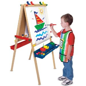melissa and doug deluxe easel top gifts for children. Black Bedroom Furniture Sets. Home Design Ideas