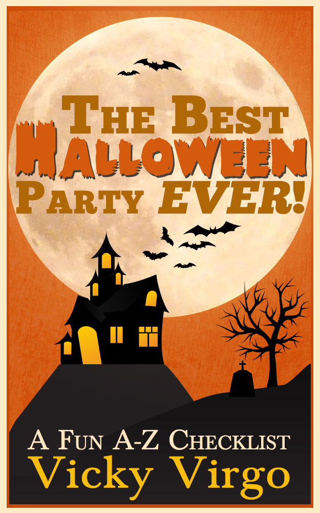 The Best Halloween Party Ever - a Fun A-Z Checklist - Vicky Virgo