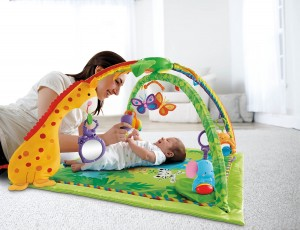 Baby Play Gym - Fisher Price Rainforest Medlodies Deluxe Gym