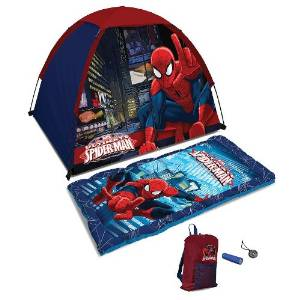 Spiderman Sleeping Bag and Tent