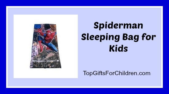 Spiderman Sleeping Bag for Kids